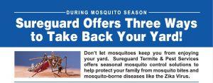 capture top of mosquito flyer